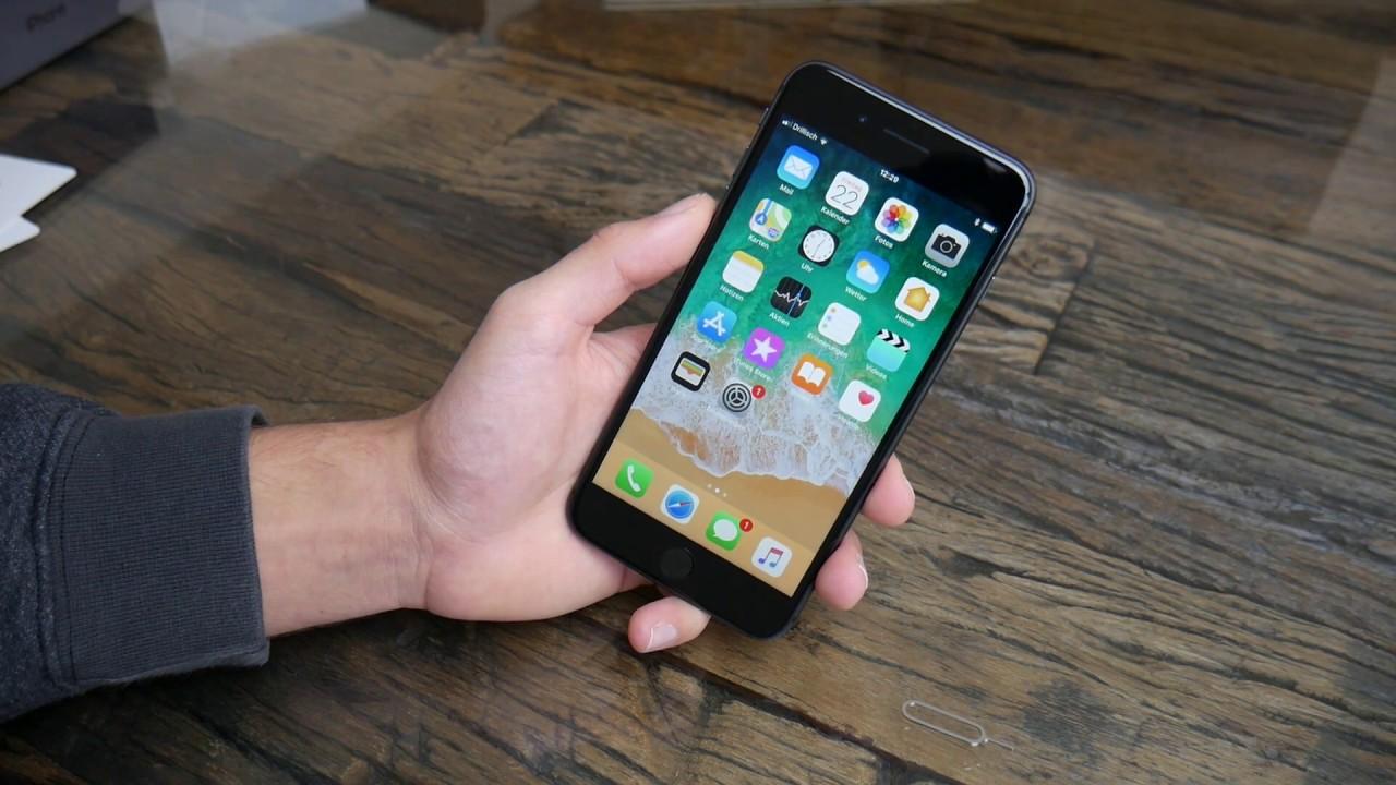 Iphone 8 Plus Einrichten Erster Start Sim Karte Einlegen So Gehts