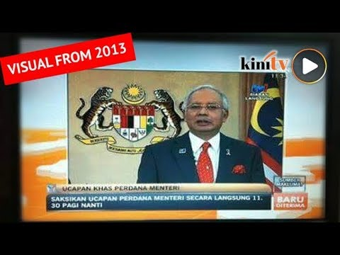 Ucapan khas Najib 11.30 pagi? Itu palsu