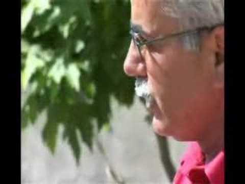 Şehit Şırnaklı Burhan Yalçın'ın babası ile taziyede goruşme