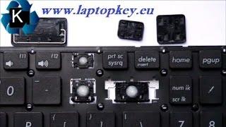 Инструкция как поменять установить отремонтировать клавишу в ноутбуке Asus X502 X551 P551 R510