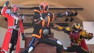 仮面ライダーゴーストのキャラクターショーです。 今回は仮面ライダーウ...