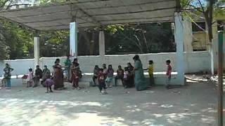 Akshay Potato Race Video at Shanti Shikara apts,Somajiguda,Hyderabad Jan 22nd-2012
