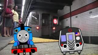 NY Subway for Kids | New York City Subway Song  by Thomas and Friends MTA Song