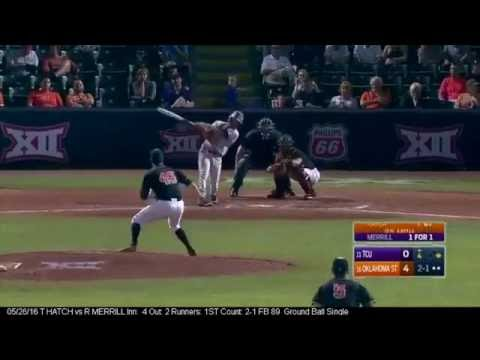 TCU Baseball Post Season 2016 Baserunning Highlights
