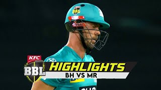 Brisbane Heat vs Melbourne Renegades | Highlights | Big Bash League | 14th January, 2021