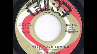I Need Your Loving  - Don Gardner & Dee Dee Ford