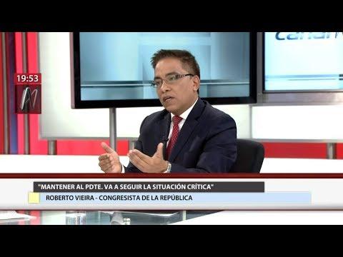 Roberto Vieira ahora quiere la vacancia de PPK, la abdicación del Congreso y la libertad de Kenji