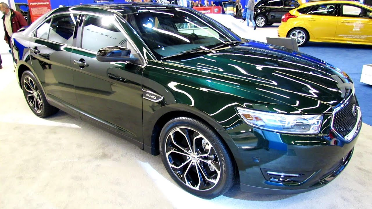 2013 Ford Taurus Sho Exterior And Interior Walkaround