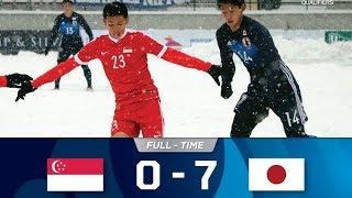 Singapore 0 - 7 Japan - AFC U19 Qualifiers