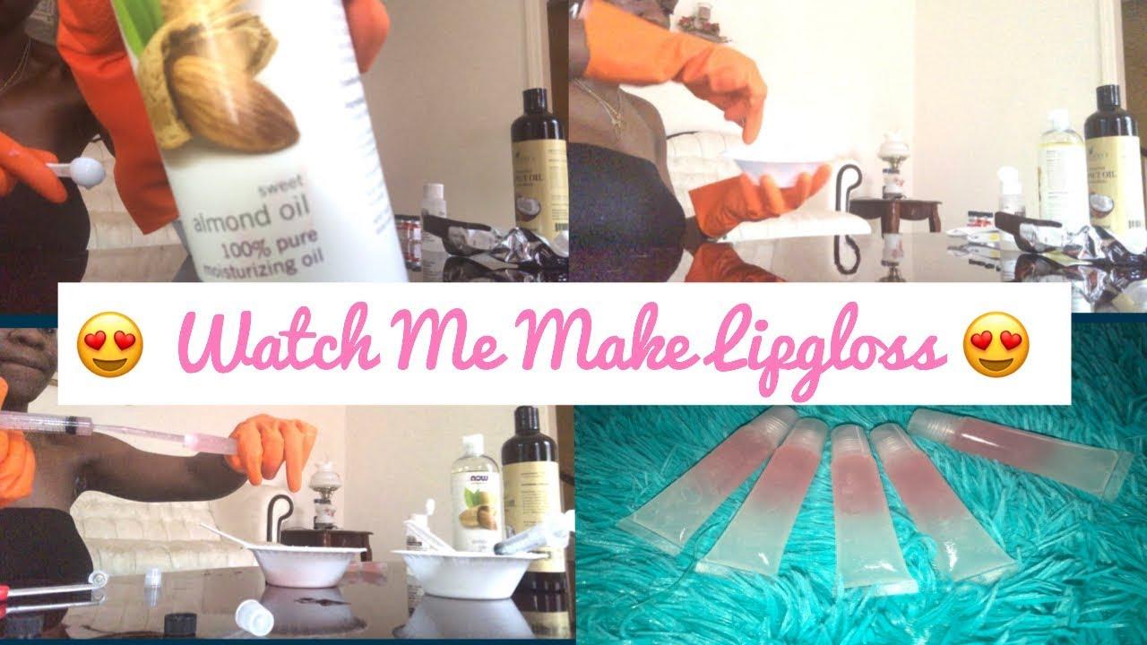 Entrepreneur Life Ep  3 | WATCH ME MAKE LIPGLOSS 💋 ! | M McClendon  Cosmetics