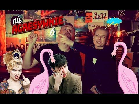 nieagresywnie 6 - Paloma Faith i flamingi,  Barbara Wrońska palacz w teledysku, Kim jest Tom Grennan