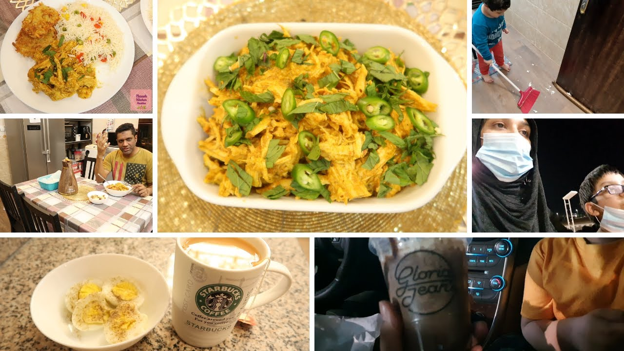 Ye hai meri Full Day Hectic Routine - Chicken Bhujia ho aur garma garam parathay hun uff kamal combo
