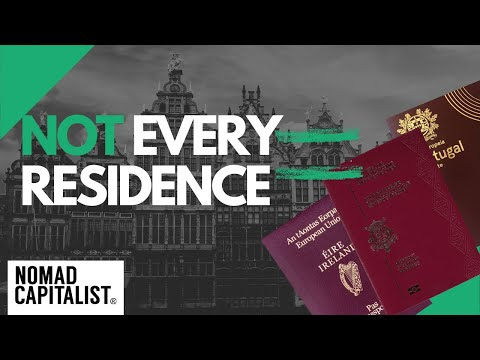 Not Every Residence Becomes a Second Citizenship