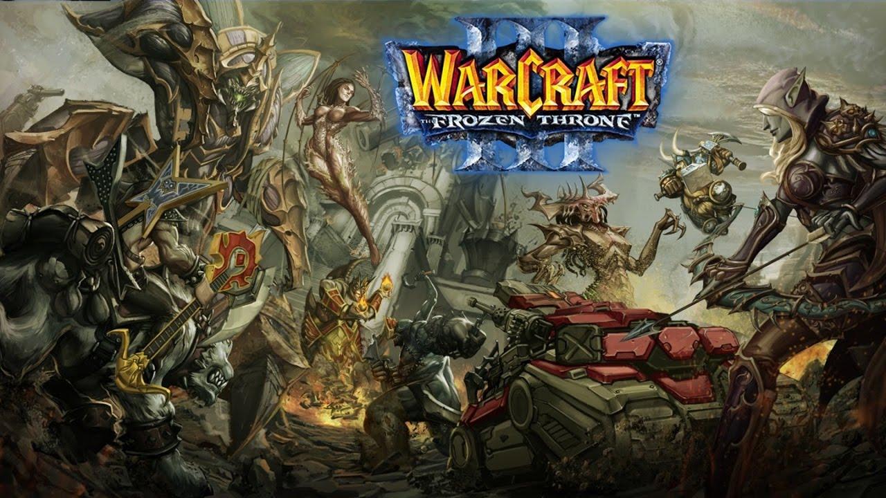 Официальные дополнительные кампании для warcraft 3 frozen throne.