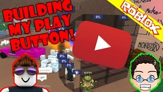 Roblox - Lumber Tycoon 2 - Building YT Play Button
