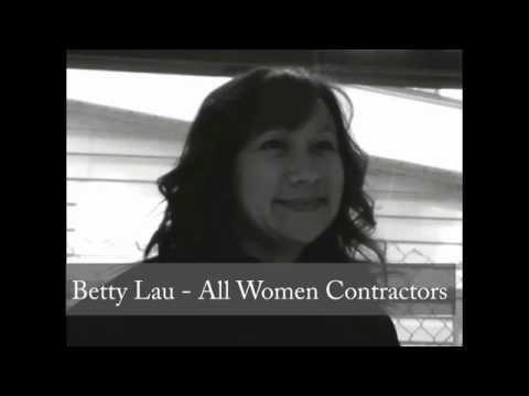 Betty Lau - All Women Contractors