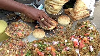 Amazing Hard Working Old Man Selling Pizza Kulcha for Rs 20 | Cheapest Pizza Kulcha in Ludhiana