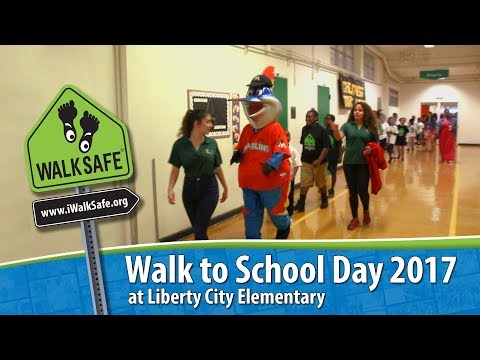 Walk to School Day 2017 | Liberty City Elementary | WalkSafe