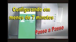 Configurando repetidor em menos de 7 minutos pelo celular
