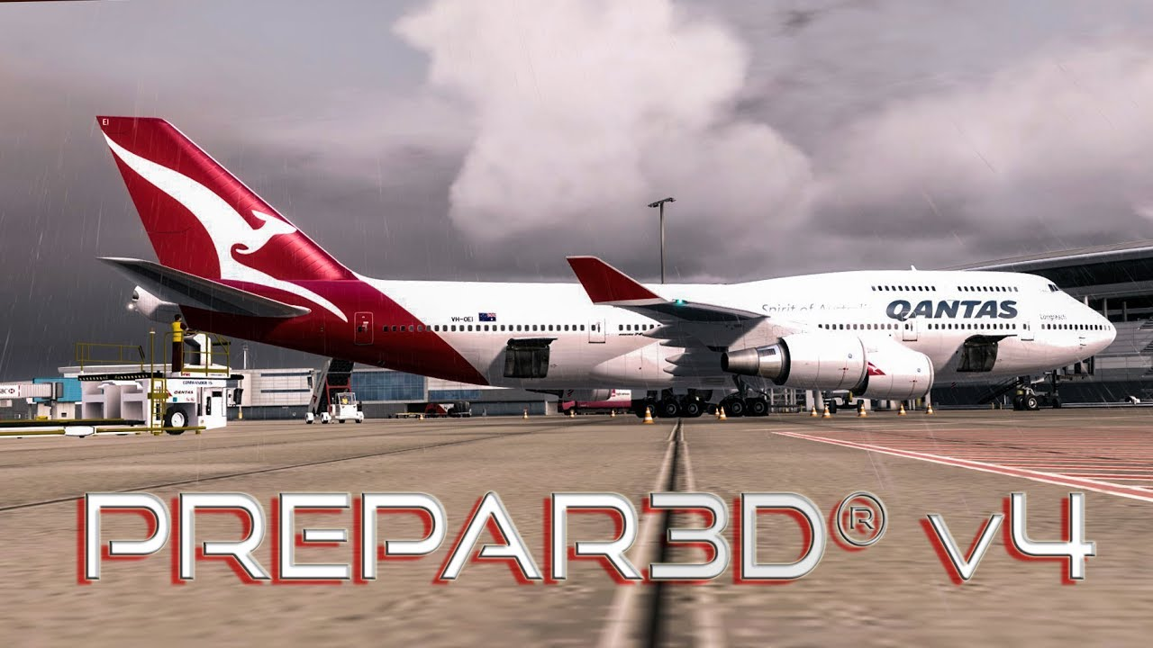 [P3D v4] A New Way Of Flying PMDG 747-400 at 4K 60p