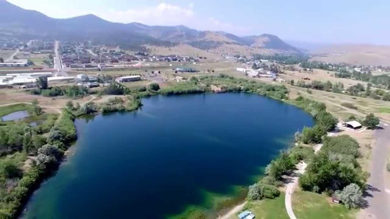 DJI P3P Spring Meadow Lake State Park. Helena, Montana ...