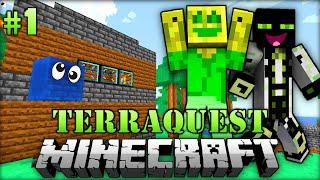 Ein SCHLEIMIGES Abenteuer - Minecraft Terraquest #001 [Deutsch/HD]