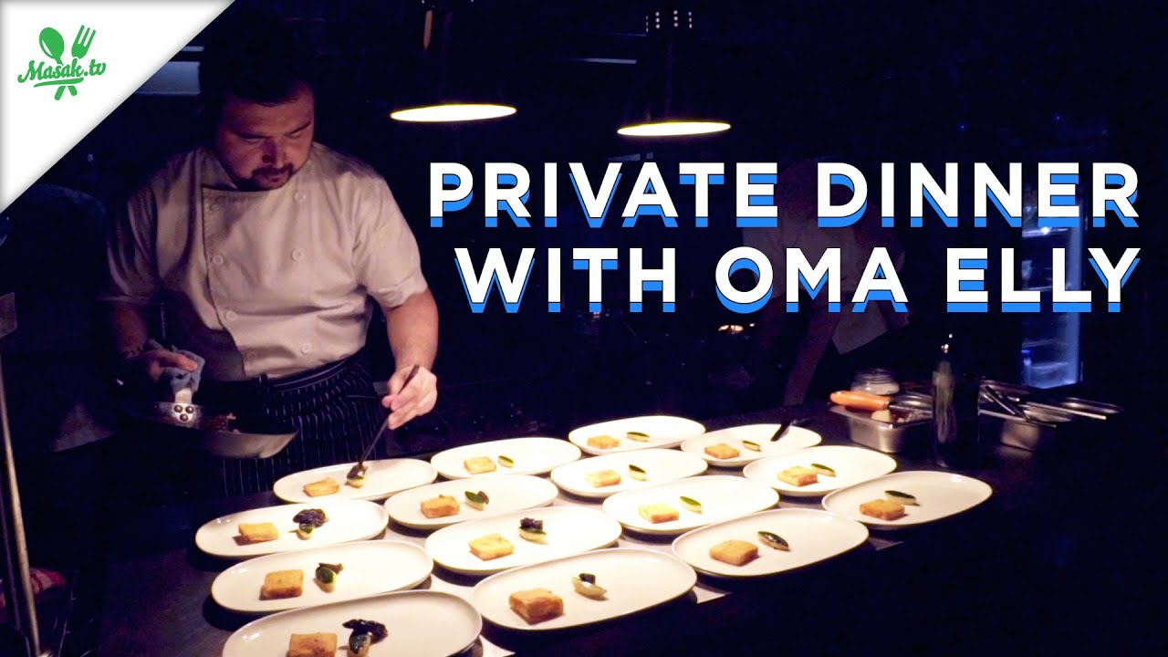 [GIVEAWAY ALERT!!!] PRIVATE DINNER EXPERIENCE AT OMA ELLY KITCHEN!