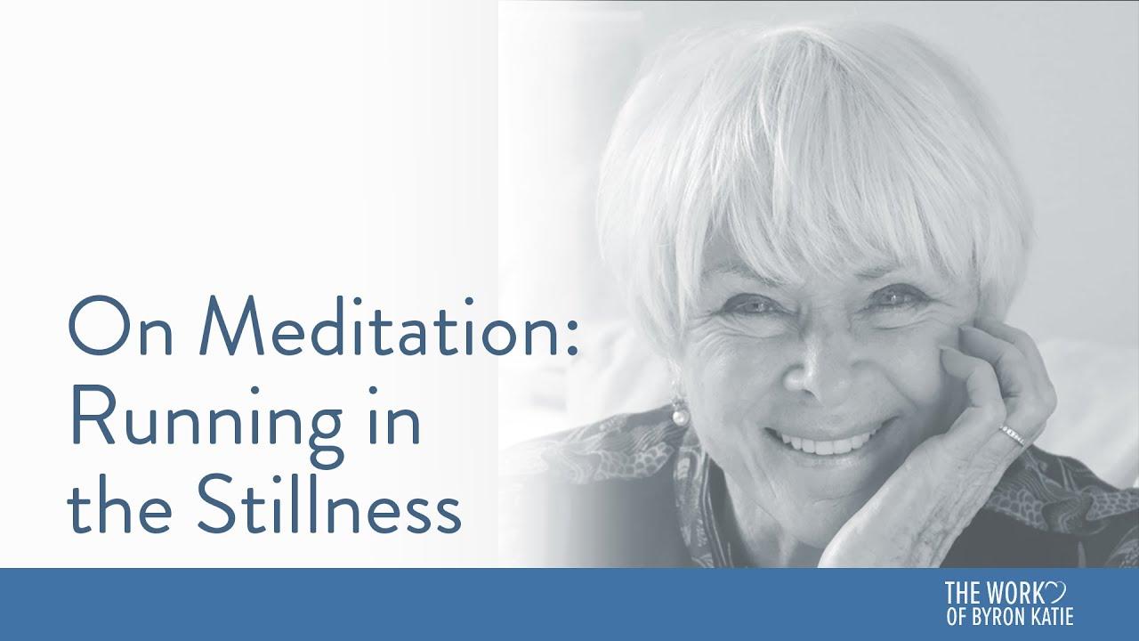 On Meditation: Running in the Stillness