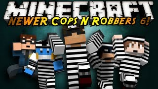 Minecraft Mini-Game : COPS N ROBBERS 3.0 ROUND SIX!
