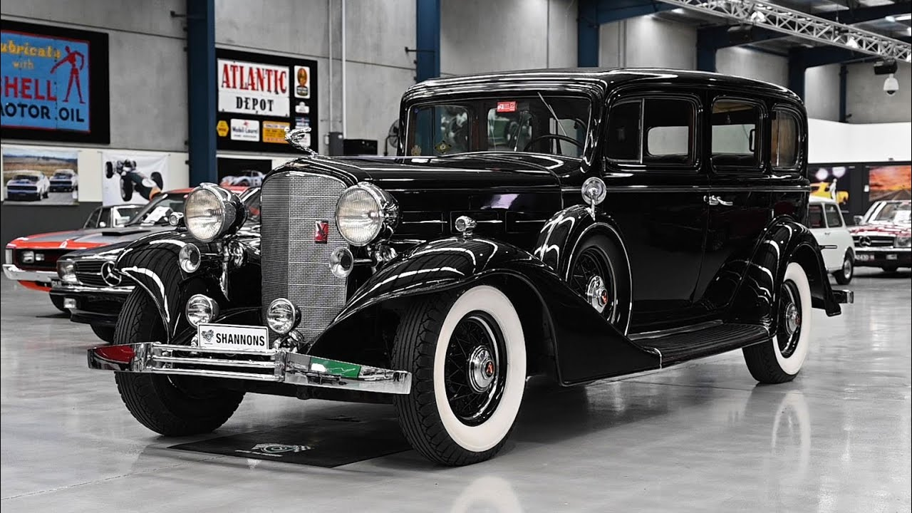 1933 Cadillac V12 370C 7-Seater Sedan (LHD) - 2020 Shannons Autumn Timed Online Auction
