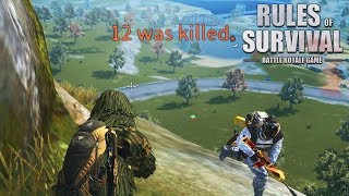 35 KILL FIRETEAM GAMEPLAY WITH NOAH! Rules of Survival (iOS/Android/PC)
