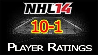 NHL 14 Player Ratings: Top 50 Players | 10-1 Thumbnail