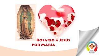 Rosario completo A Jesús por María por la paz, tus difunto...
