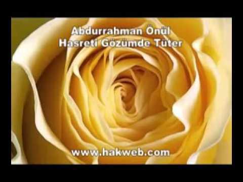 Abdurrahman Önül - Hasreti Gözümde Tüter