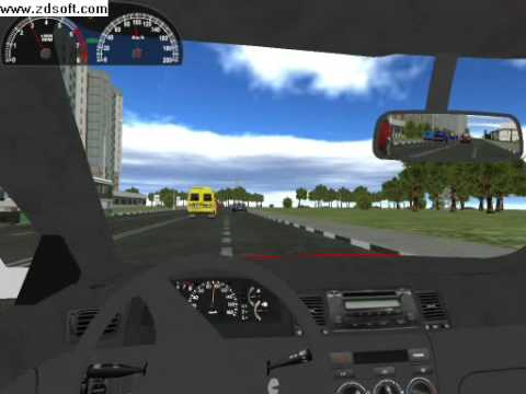 Buy 3d instructor. Training simulator driving. And download.