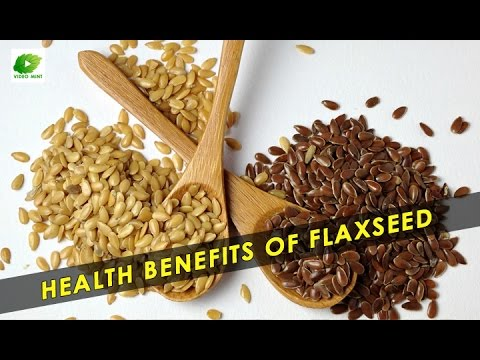 Health Benefits Of Flaxseed | Best Food Tips | Educational V