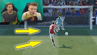 OMG! FIFA 17 BLIND ELFMETER SCHIESSEN CHALLENGE vs PROOWNEZ - Wakez