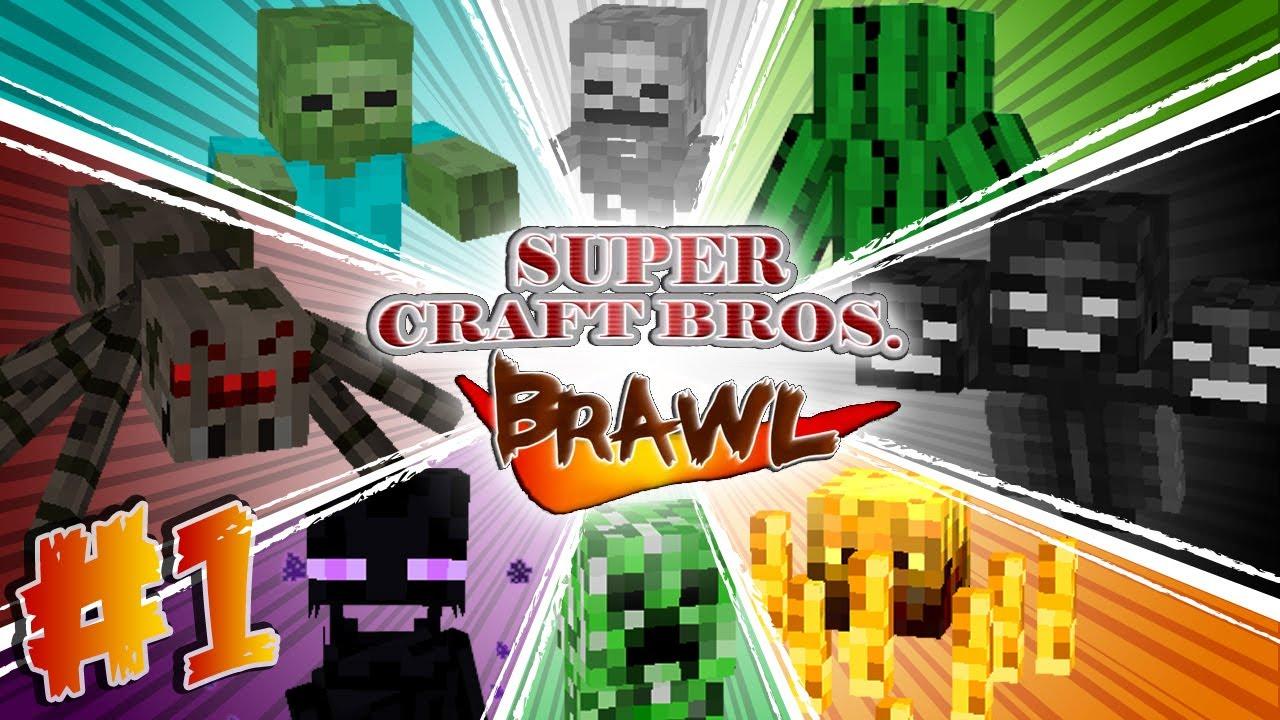 super smash brothers minecraft