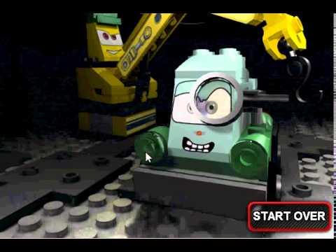 Лего Дисней Пиксар Тачки игра Грант автомобили (Lego Disney Pixar Cars)