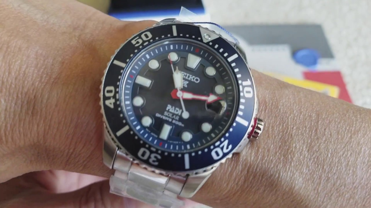DIY How To Resize SEIKO Special Edition Prospex PADI Solar Diver's 200m  Watch Band Link!October 2017