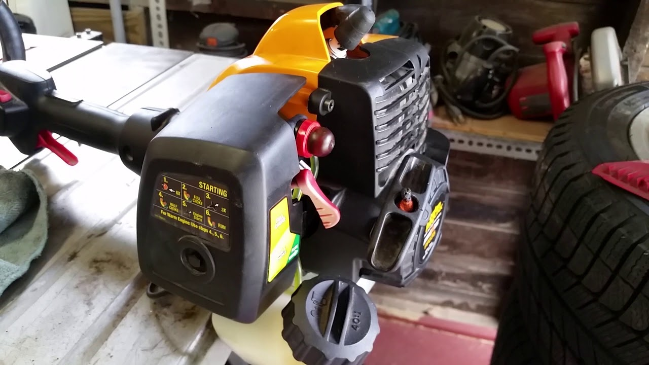 small resolution of i put back together the poulan pro link pp335 weed trimmer