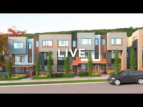 New Townhomes At The Village Of Trinity Hills In Calgary