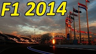 F1 2014 Gameplay: Sochi, Russia First Race!
