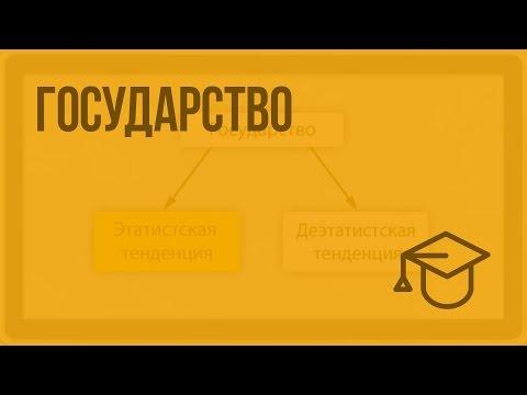 Государство. Видеоурок по обществознанию 10 класс
