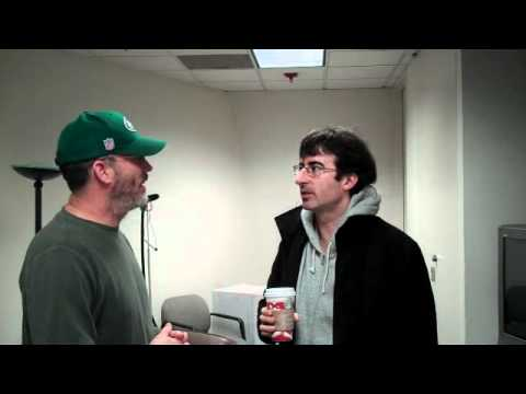 In the KQED Green Room with The Daily Show's John Oliver