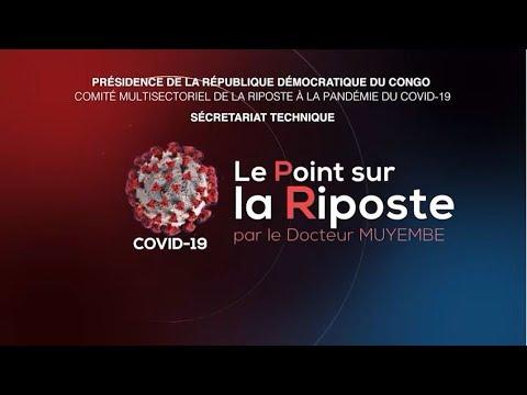 Coronavirus : Présidence de la République Démocratique du Congo: Le Point sur la Riposte