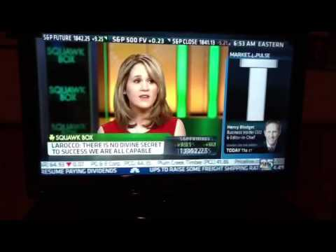 Lori Ann LaRocco on CNBC Squawk Box