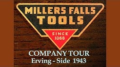 Factory Tour - Millers Falls Tools - 1943