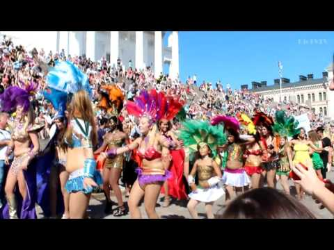 Samba Girls Dancing | Samba Dance Finland | Helsinki Samba 2013