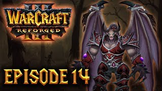 Let's Play 100% DIFFICILE FR - Warcraft III Reforged (Kylesoul) - ep14 : RIP UTHER !